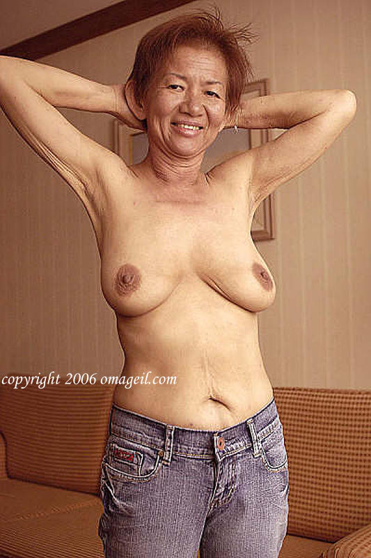 grannies Very old naked asian