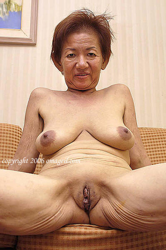 old asian grannies naked Very
