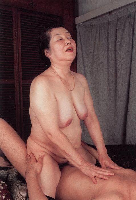 Japanese grandma sex
