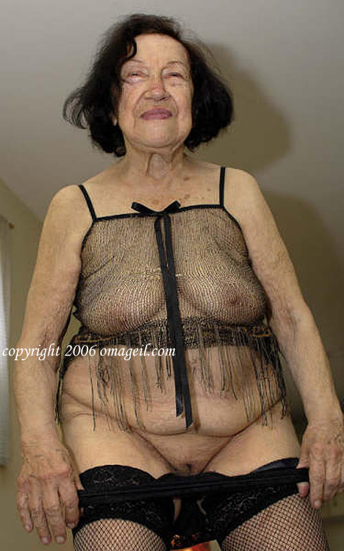 Asian granny slut