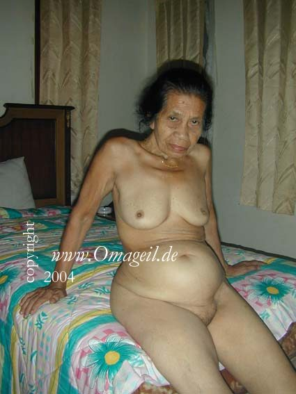 Granny fuck asian