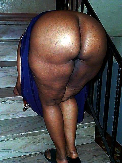black fat granny ass