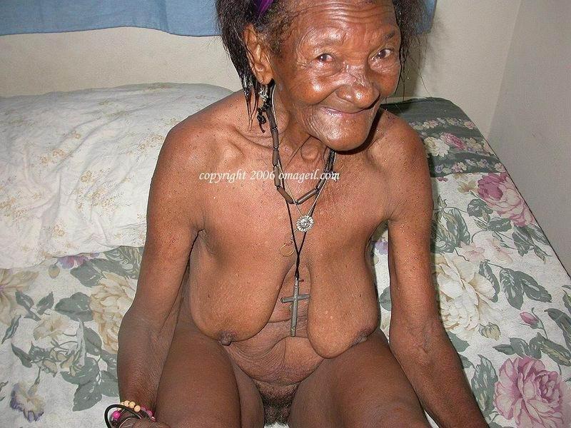 Granny black porn