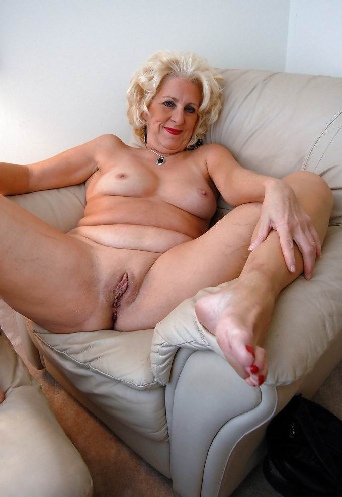 64 year old slapper naked on her knees 7
